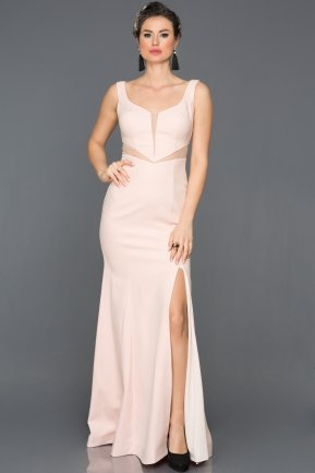 Long Powder Color Prom Gown AN2574