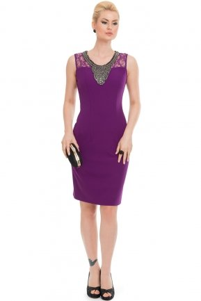 Purple Night Dress AN98280