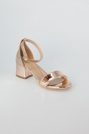 Rose Mirror Evening Shoes AB1003