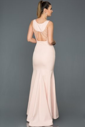 Long Powder Color Mermaid Evening Dress AB2534
