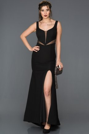 Long Black Prom Gown AN2574