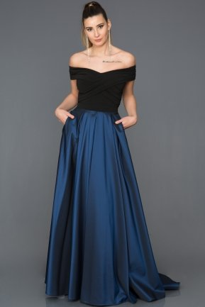 Long Parliamentary Evening Dress AB1073