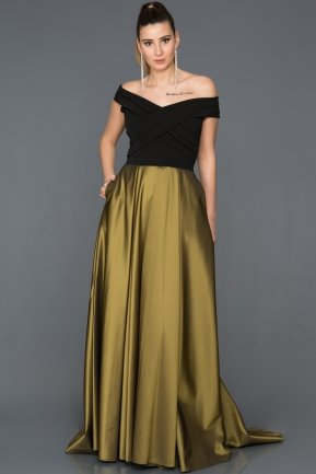Long Green Evening Dress AB1073