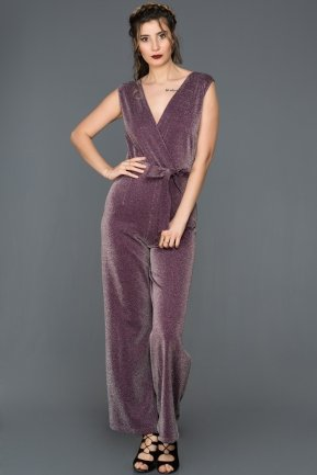 Purple Invitation Dress AR37079