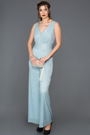 Light Blue Jumpsuit ABT007