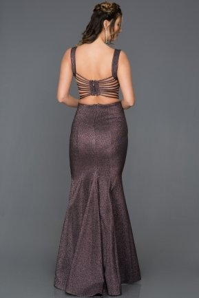Long Violet Engagement Dress AB7437