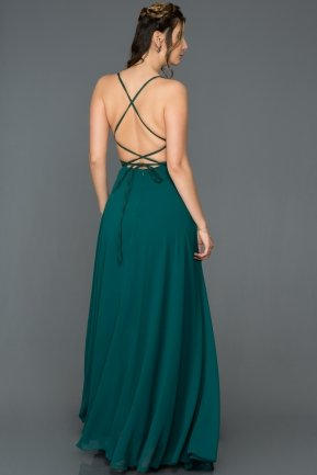 Long Emerald Green Prom Gown C7447