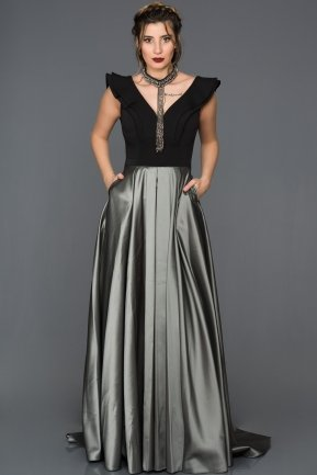 Tail Grey Engagement Dress GG7104