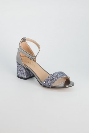 Anthracite Evening Shoes AB1005