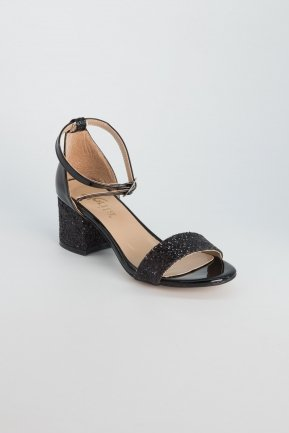Black Evening Shoes AB1005