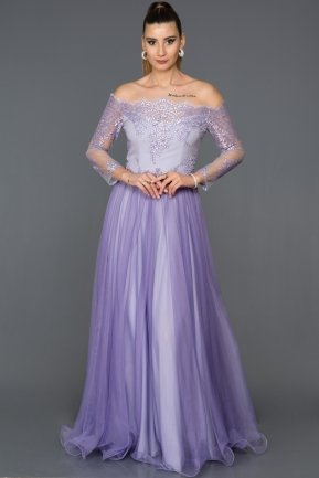 Long Lila Princess Evening Dress ABU019
