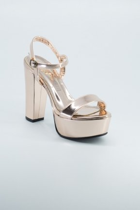 Rose Mirror Evening Shoes AB1008