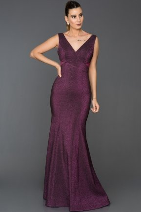 Long Fuchsia Mermaid Prom Dress AB7501