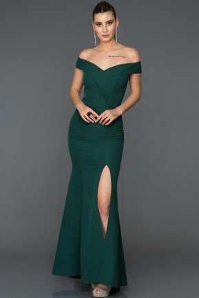 Long Emerald Green Mermaid Prom Dress AB7540