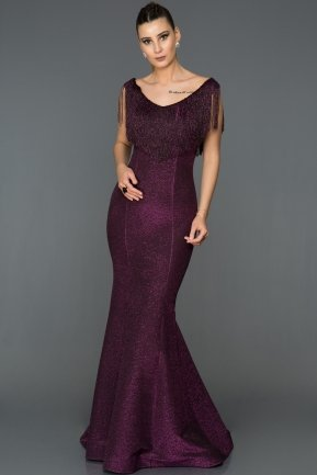 Long Fuchsia Mermaid Prom Dress AB7438