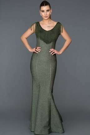 Long Green Mermaid Prom Dress AB7438