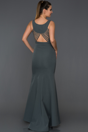 Long Antrasite Mermaid Evening Dress AB2534