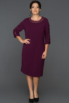 Violet Plus Size Evening Dress ABK226