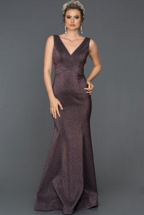 Long Violet Mermaid Prom Dress AB7501