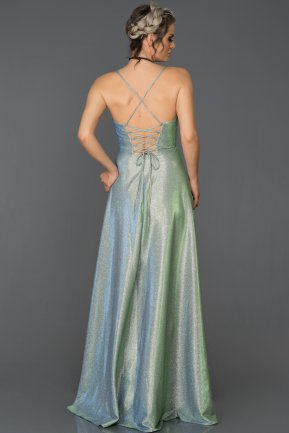 Long Mint Prom Gown ABU168
