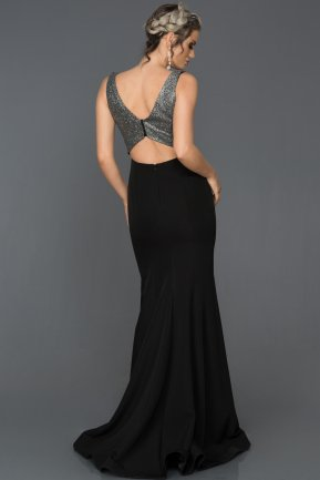 Long Grey Mermaid Evening Dress AB7439