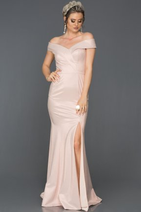 Long Powder Color Mermaid Prom Dress AB7531