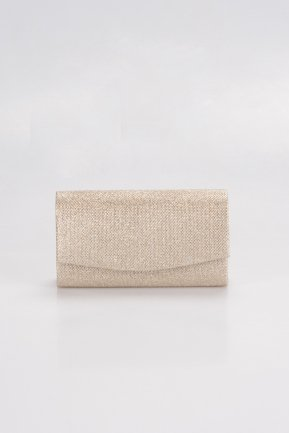 Gold Silvery Evening Bag V474