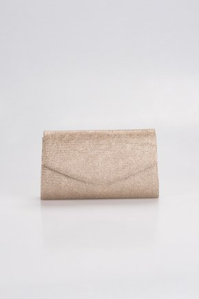 Mink Silvery Evening Bag V497