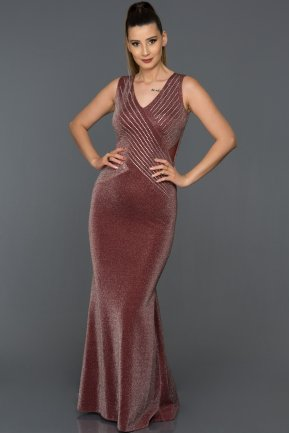 Long Burgundy Prom Gown AB37120