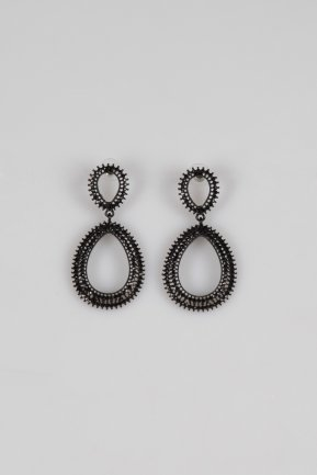 Black Earring BT118