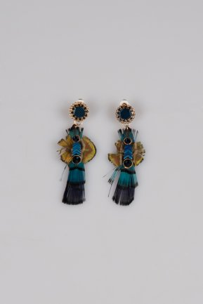 Blue Earring BT144