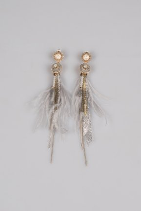 Grey Earring BT146