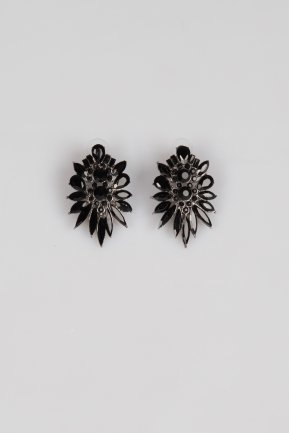 Black Earring ZB004