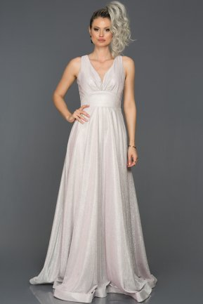 Long Pink Engagement Dress AB7592