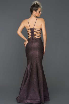 Long Violet Mermaid Prom Dress AB7466