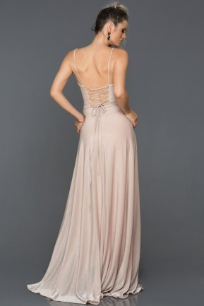 Long Powder Color Engagement Dress AB7503