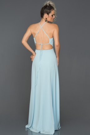 Long Light Blue Engagement Dress AB7568