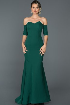 Long Emerald Green Mermaid Prom Dress ABU477