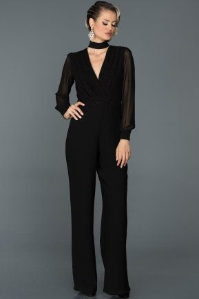 Black Jumpsuit ABT002