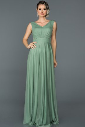 Long Firuze Evening Dress ABU056