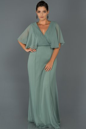 Long Firuze Oversized Evening Dress AB4369