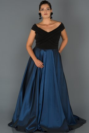 Long Parlement Oversized Evening Dress AB1073