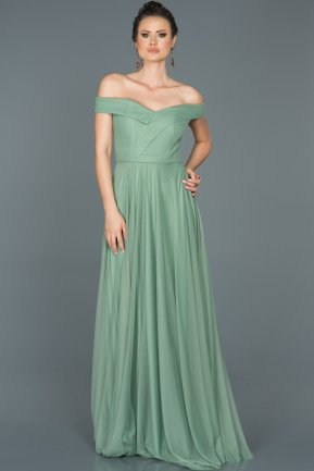 Long Firuze Prom Gown ABU021