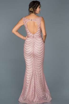 Long Powder Color Mermaid Prom Dress ABU429