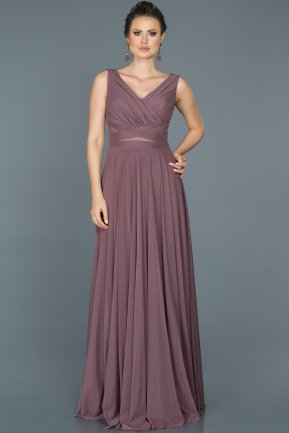 Long Lavender Evening Dress ABU004