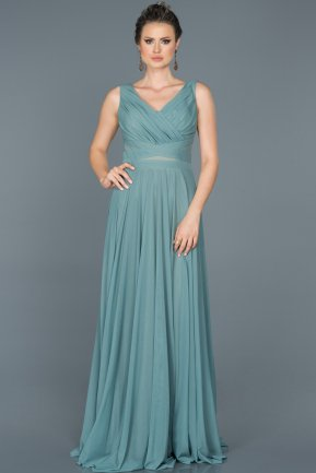 Long Firuze Evening Dress ABU004