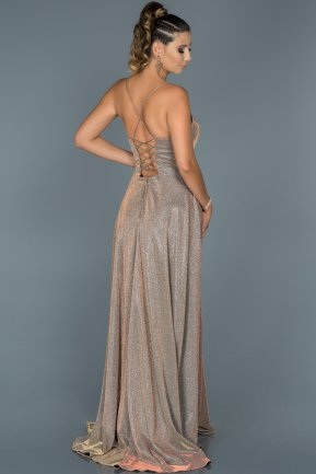 Long Lavander Mermaid Evening Dress ABU451