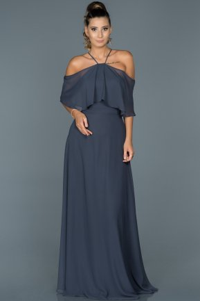 Long Indigo Evening Dress ABU002
