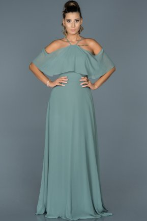 Long Firuze Evening Dress ABU002