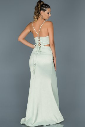 Long Mint Mermaid Evening Dress ABU420
